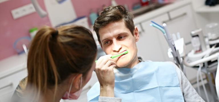 Správné čištění zubů